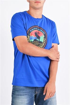 Polo Ralph Lauren ανδρικό Τ-shirt με στρογγυλή στάμπα