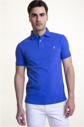 Polo Ralph Lauren ανδρική polo μπλούζα κοντομάνικη με κεντημένο logo