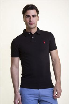"Polo Ralph Lauren ανδρική polo μπλούζα ""Slim Fit Mesh"""