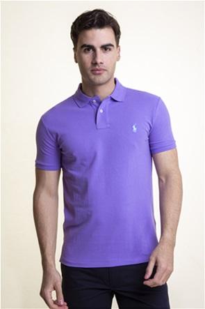 """Polo Ralph Lauren ανδρική μπλούζα πόλο """"Slim Fit Mesh"""""""