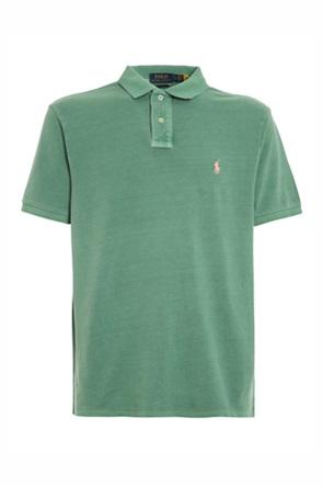 """Polo Ralph Lauren ανδρική μπλούζα πόλο """"Custom Slim Fit Mesh"""""""