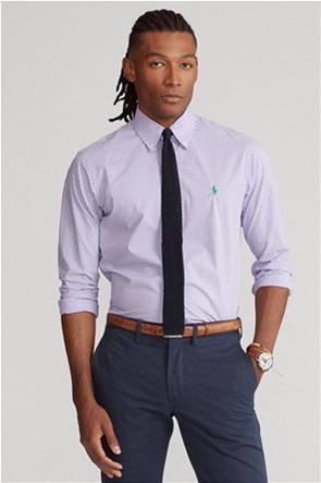 "Polo Ralph Lauren ανδρικό καρό πουκάμισο ""Custom Fit Gingham Poplin"""