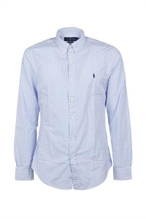 "Polo Ralph Lauren ανδρικό πουκάμισο με ριγέ σχέδιο ""Custom Fit"""