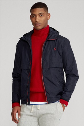 "Polo Ralph Lauren ανδρικό μπουφάν αδιάβροχο με κουκούλα ""Water-Repellent Hooded"""