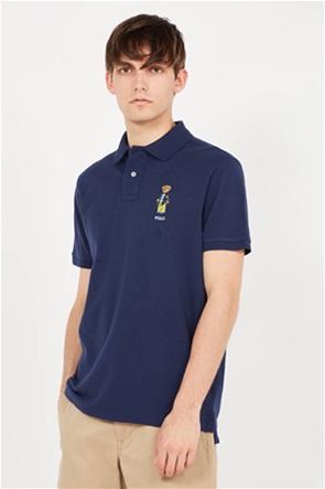 Polo Ralph Lauren ανδρική πόλο μπλούζα με κεντημένο σχέδιο ''Classic Fit Polo Bear''
