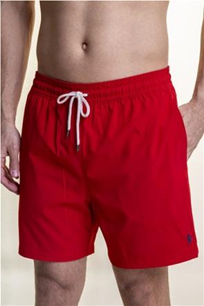 Polo Ralph Lauren ανδρικό μαγιό με κεντημένο λογότυπο ''Traveller''