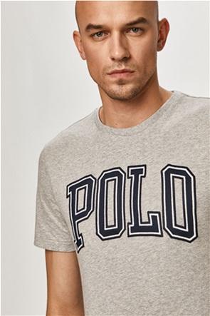 Polo Ralph Lauren ανδρικό T-shirt με oversized logo print ''Custom Slim Fit''