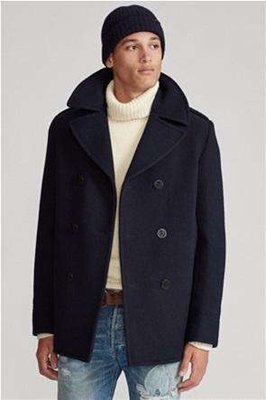 "Polo Ralph Lauren ανδρικό μάλλινο παλτό με διπλή σειρά κουμπιών ""Polo Wool-Blend Melton"""