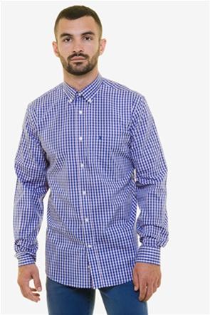 The Bostonians ανδρικό πουκάμισο καρό με τσέπη στο στήθος