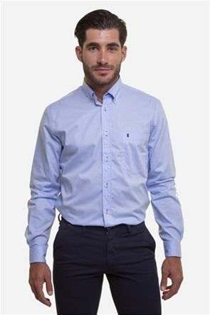 The Bostonians ανδρικό πουκάμισο μονόχρωμο με μία τσέπη