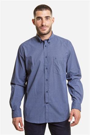 The Bostonians ανδρικό πουκάμισο με μικροσχέδιο print