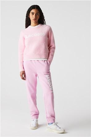Lacoste γυναικείο πουλόβερ με contrast λογότυπο