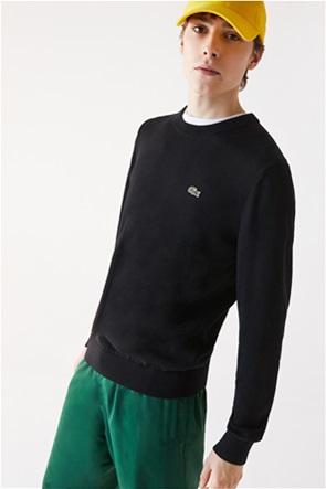 Lacoste ανδρική μακρυμάνικη μπλούζα μονόχρωμη