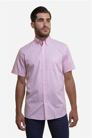 The Bostonians ανδρικό πουκάμισο καρό με κοντό μανίκι