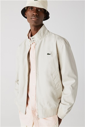 Lacoste ανδρικό jacket αδιάβροχο με ψηλό γιακά