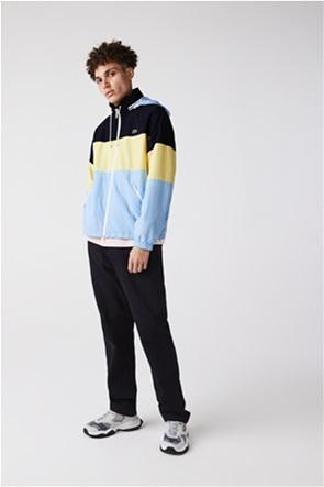 Lacoste ανδρικό μπουφάν με κουκούλα colourblocked
