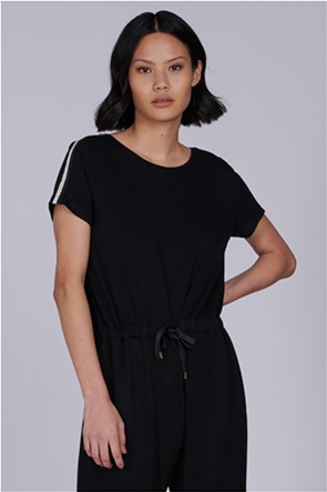 "Barbour International γυναικεία ολόσωμη φόρμα κοντομάνικη με κορδόνι στη μέση ""Checker"""