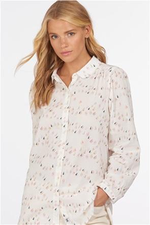"Barbour γυναικείο μακρυμάνικο πουκάμισο με all-over print ""Padstow"""