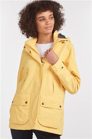 "Barbour γυναικείο αδιάβροχο μπουφάν με αποσπώμενη κουκούλα ""Clyde"""