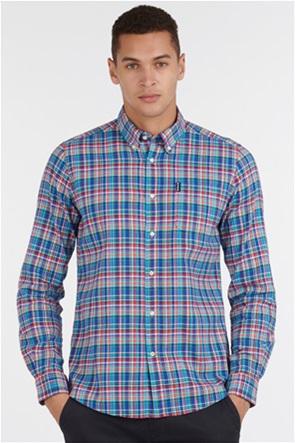 "Barbour ανδρικό μακρυμάνικο πουκάμισο καρό με τσέπη στο στήθος ""Highland Check 38"""