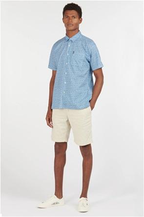 Barbour ανδρικό κοντομάνικο πουκάμισο με all-over botanical print