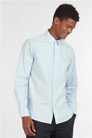 "Barbour ανδρικό μακρυμάνικο πουκάμισο μονόχρωμο ""Oxford 13"""