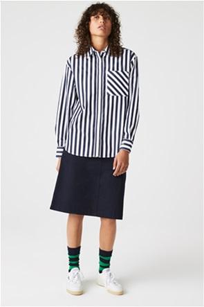 Lacoste γυναικείο πουκάμισο με ριγέ σχέδιο
