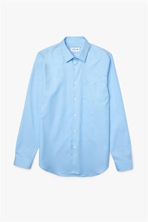 Lacoste ανδρικό πουκάμισο ποπλίνα με τσέπη