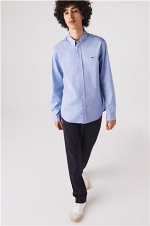 Lacoste ανδρικό πουκάμισο με μικρό καρό Regular Fit
