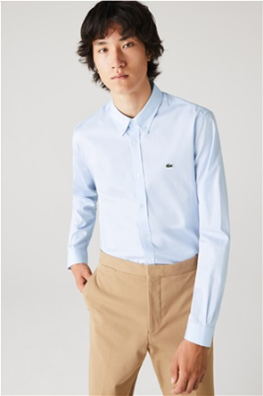 Lacoste ανδρικό πουκάμισο ποπλίνα Regular Fit