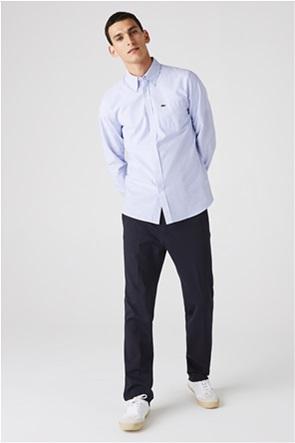 Lacoste ανδρικό πουκάμισο με ριγέ print Regular Fit