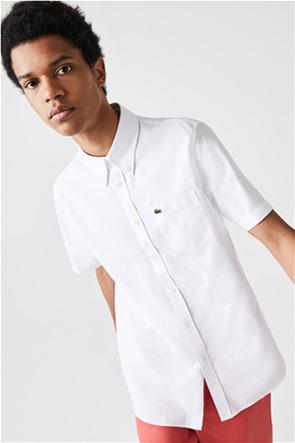 Lacoste ανδρικό πουκάμισο button down με τσέπη