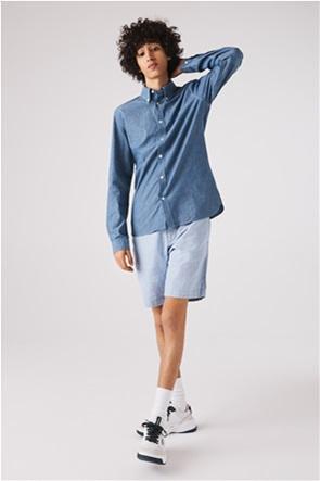 Lacoste ανδρικό πουκάμισο Slim Fit Cotton Chambray