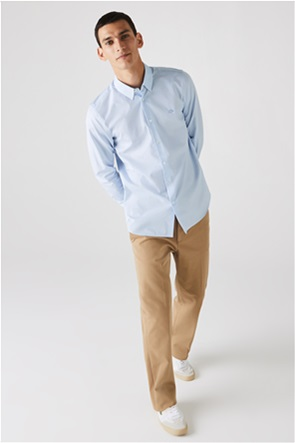 Lacoste ανδρικό πουκάμισο με καρό μικροσχέδιο
