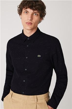 "Lacoste ανδρικό πουκάμισο ""Flamed Cotton"" Slim Fit"