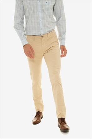 The Bostonias ανδρικό παντελόνι chinos slim fit