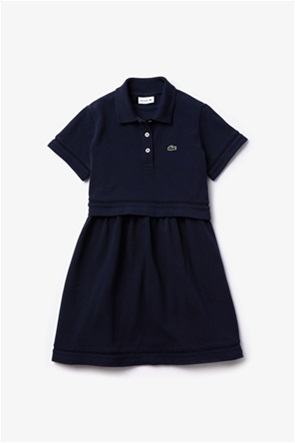 "Lacoste παιδικό φόρεμα πόλο ""Polo-Style Trompe l'Oeil"""