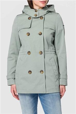 Esprit γυναικείο μπουφάν αδιάβροχο με αποσπώμενη κουκούλα