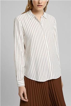 Esprit γυναικείο πουκάμισο ριγέ