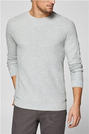 2b751416d615 Esprit ανδρική πλεκτή μπλούζα με ραφές. 39