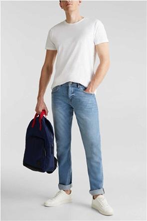 Esprit ανδρικό τζην παντελόνι stretch με ξεβαμμένη όψη 32L