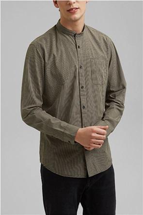 Esprit ανδρικό πουκάμισο με καρό σχέδιο