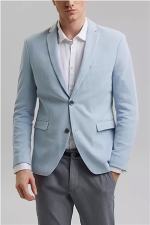 Esprit ανδρικό μονόχρωμο casual σακάκι