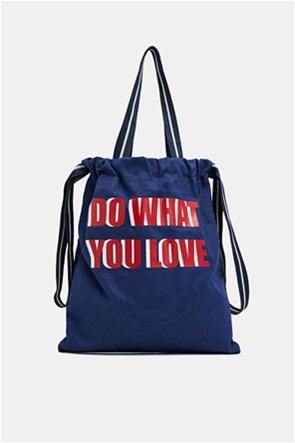 Esprit γυναικεία shopper τσάντα Canvas