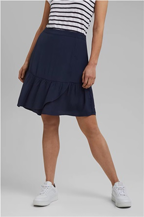 Esprit γυναικεία mini φούστα με βολάν