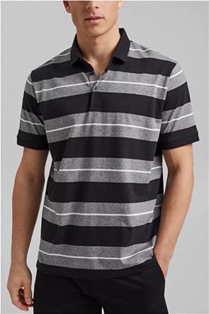 Esprit ανδρική πόλο μπλούζα ριγέ