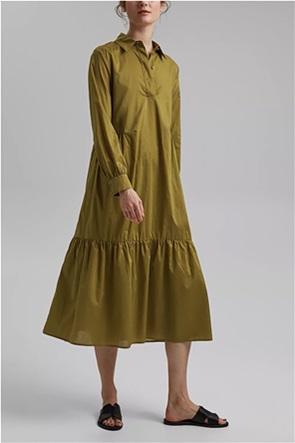 Esprit γυναικείο midi φόρεμα με βολάν