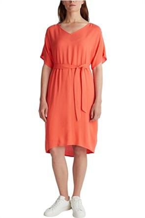 Esprit γυναικείο mini φόρεμα με ζώνη στη μέση