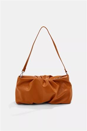 """Esprit γυναικεία τσάντα ώμου με σούρες """"Vegan"""""""