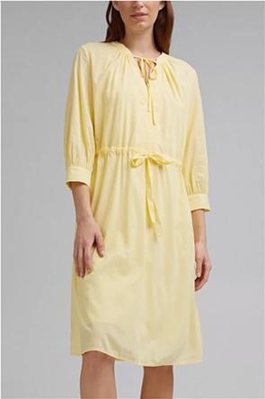 Esprit γυναικείο mini φόρεμα με V λαιμόκοψη
